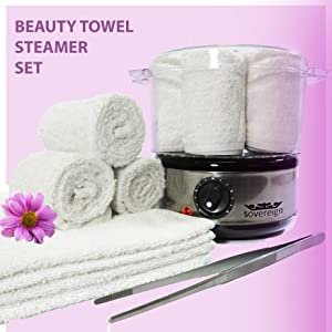 7 Piece Beauty Salon Towel Steamer Kit