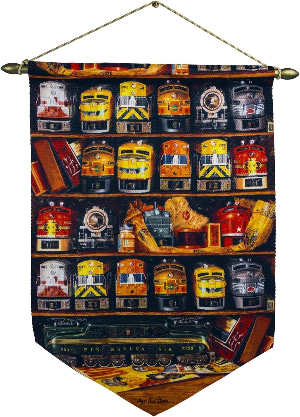 Lionel Train Accessories, Train Wall Hanging Novelty