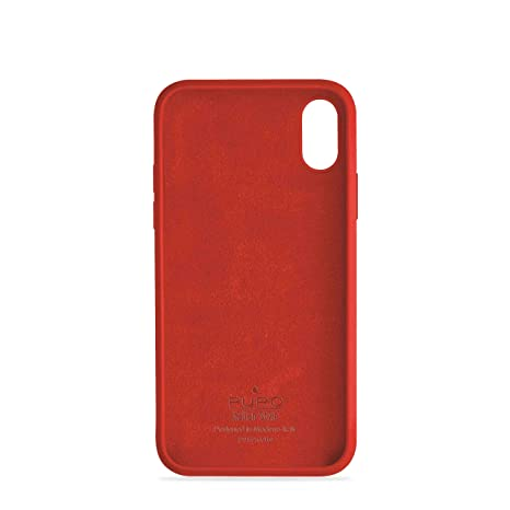 on sale b3430 d1915 Puro Icon Series Silicone Protective Case for iPhone Xr: Amazon.co ...