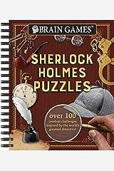 Brain Games Sherlock Holmes Puzzles Spiral-bound