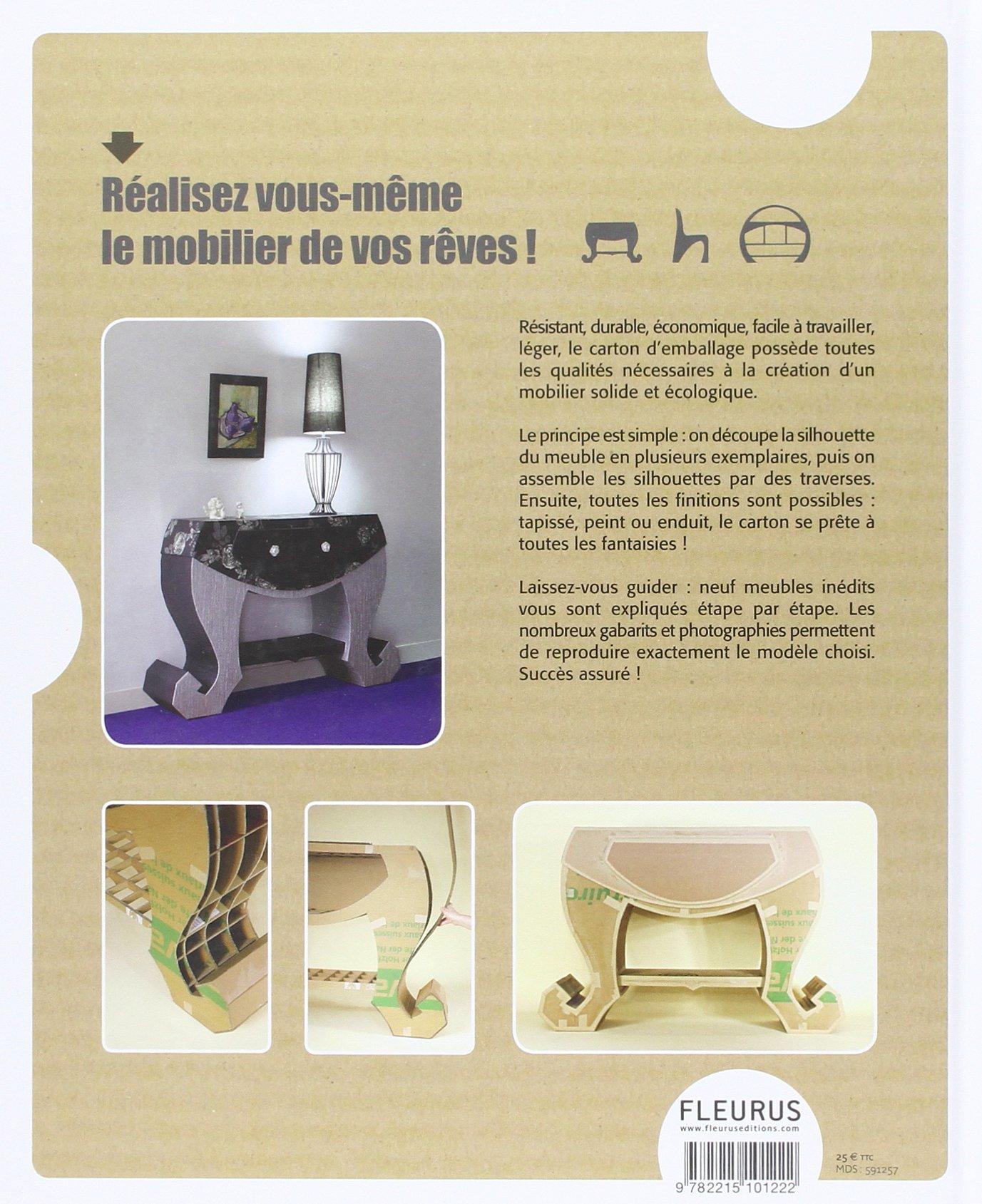 Amazon Fr Grand Livre Des Meubles En Carton Kiki Carton Livres
