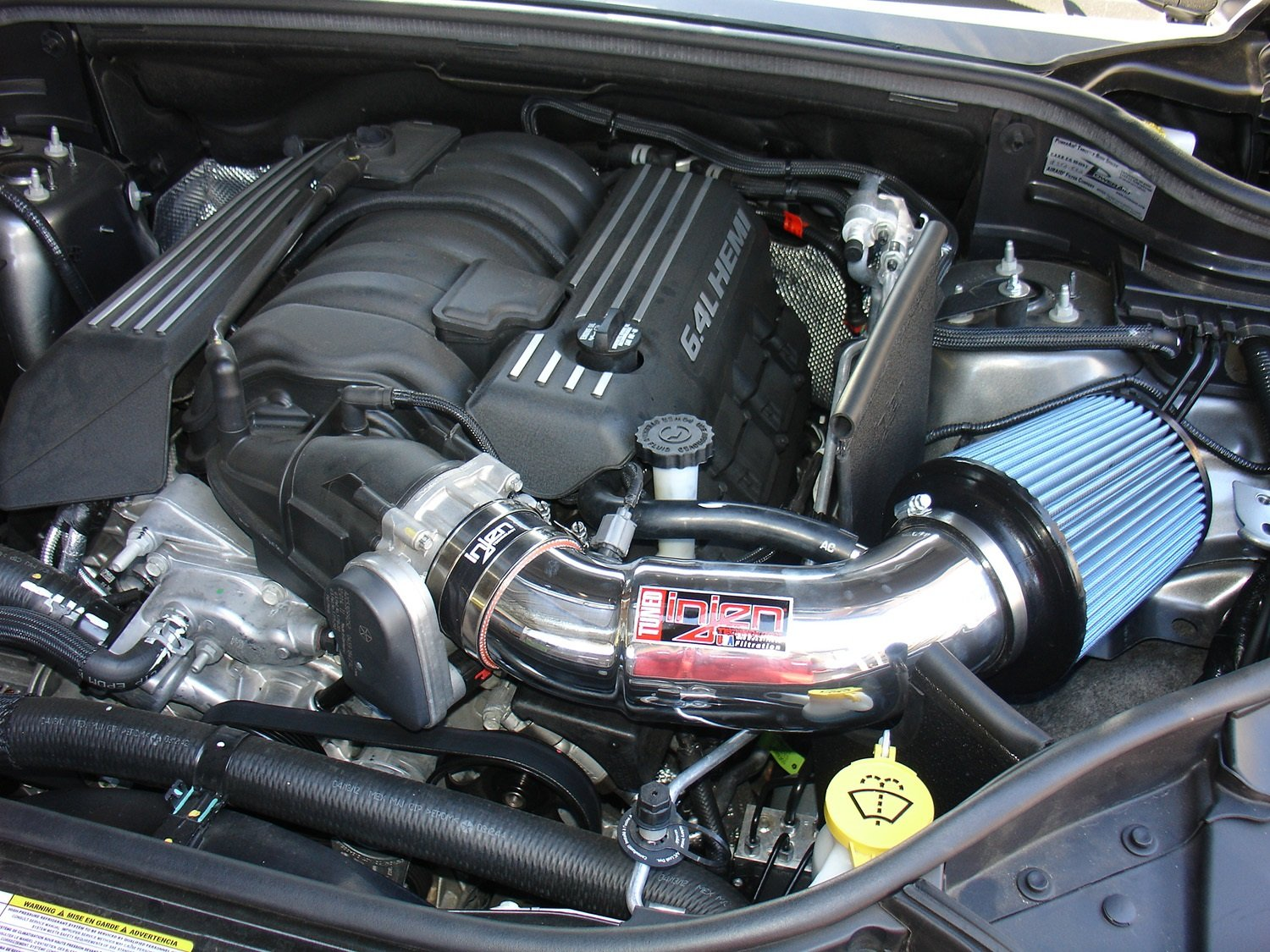 Injen Jeep 2013 Grand Cherokee SRT-8 V8 6.4L Tuned Air intake with MR Technology Heat shield and Super Nano-web Dry Filter