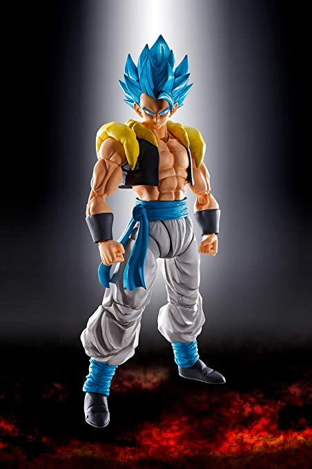 BANDAI S.H.Figuarts DRAGON BALL SUPER SS GOD SUPER SAIYAN GOGETA