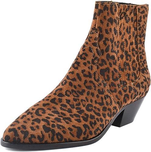 Ash Future Ankle Boots Leopard Print