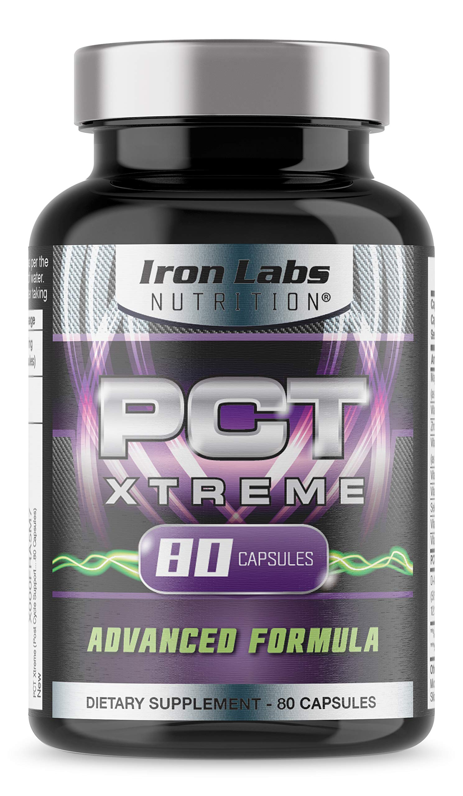 PCT XTREME   80 Capsules   Post Cycle Support & Natural Testosterone Booster   With an Exclusive Advanced Formula