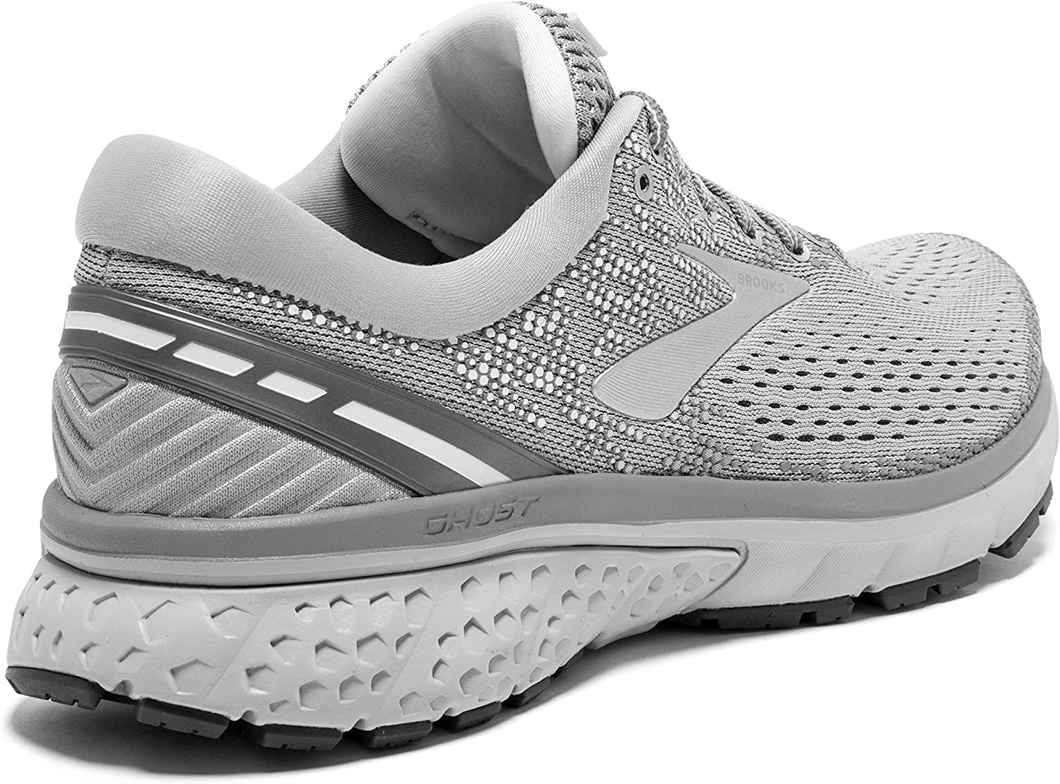 Brooks Australia Women's Ghost 11 Road Running Shoes, Grey/Silver/White Grey/silver/white