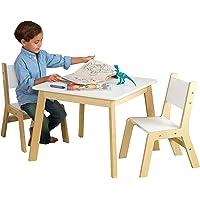 KidKraft- Mesa con 2 sillas de madera
