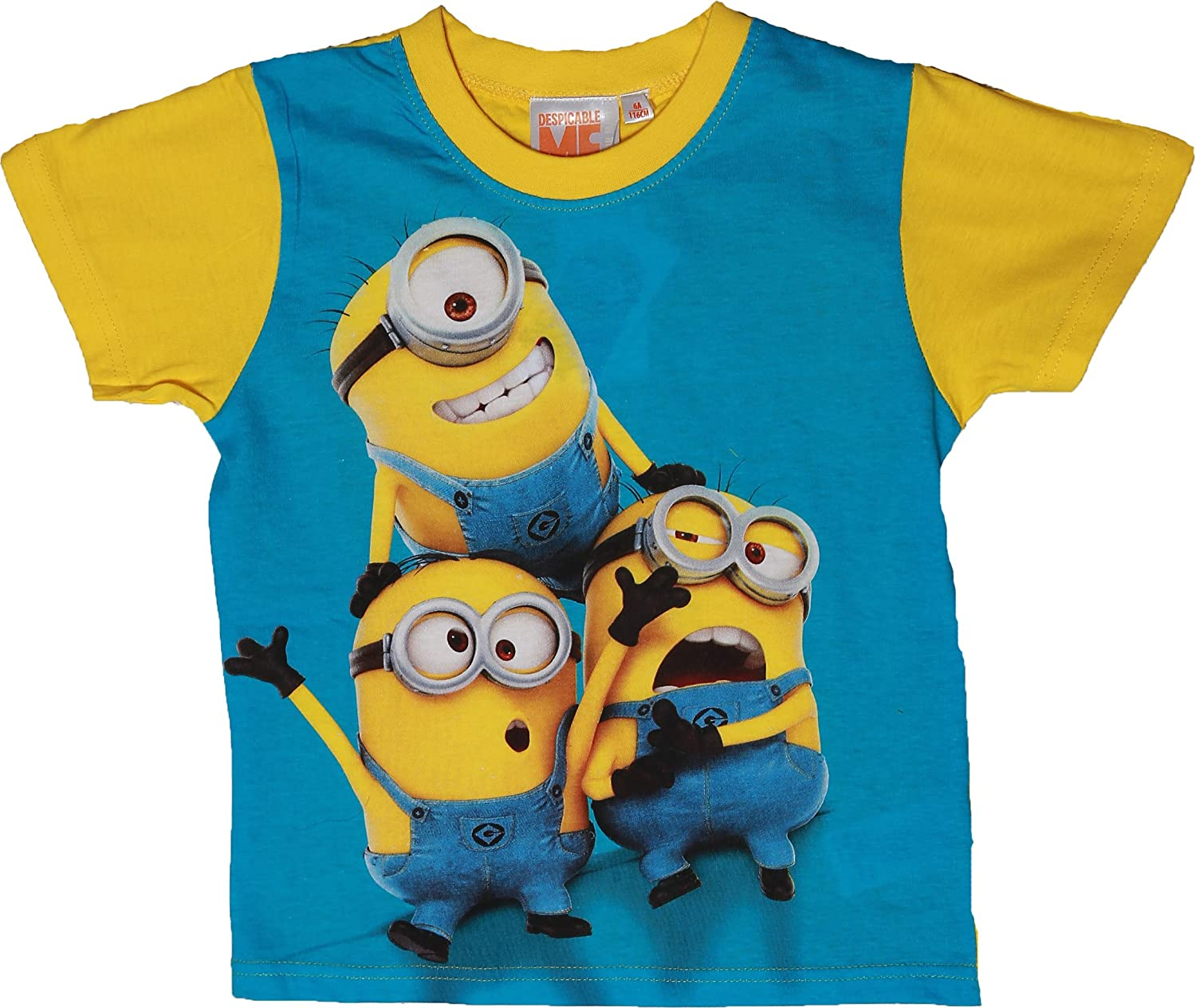 Despicable me Minions Trio Short Sleeve T Shirt