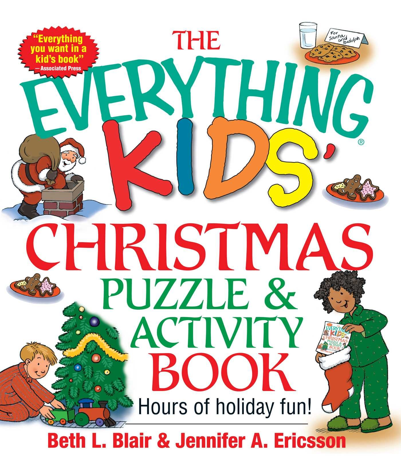 the everything kids christmas puzzle and activity book mazes activities and puzzles for hours of holiday fun beth l blair jennifer a ericsson