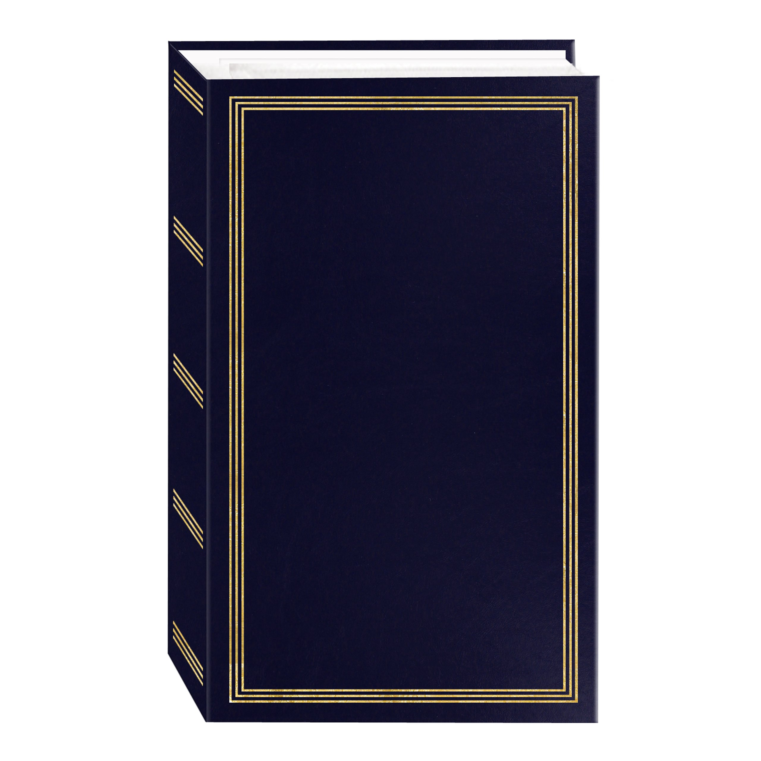 3-Ring Photo Album 504 Pockets Hold 4x6 Photos, Navy Blue by Pioneer Photo Albums