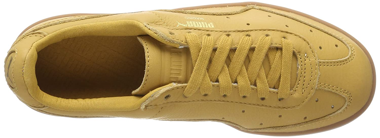Puma Puma Puma Unisex-Erwachsene Madrid Premium Sneaker Gelb (Honey Mustard-puma Team Gold) 0d6500