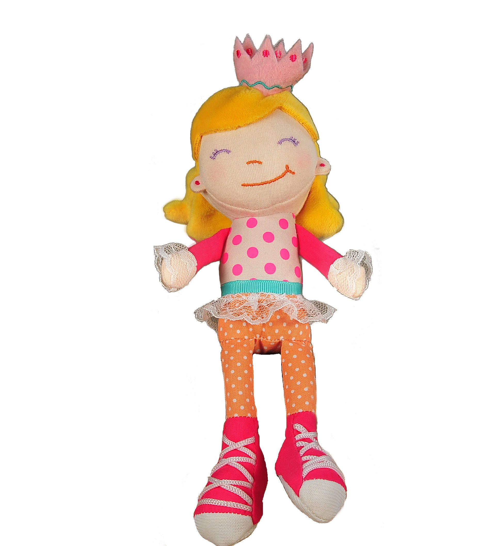 Tickle & Main Big Sister Gift Set- I Hereby Crown You Big Sister Book, Doll, and Child Size Crown by Tickle & Main (Image #6)