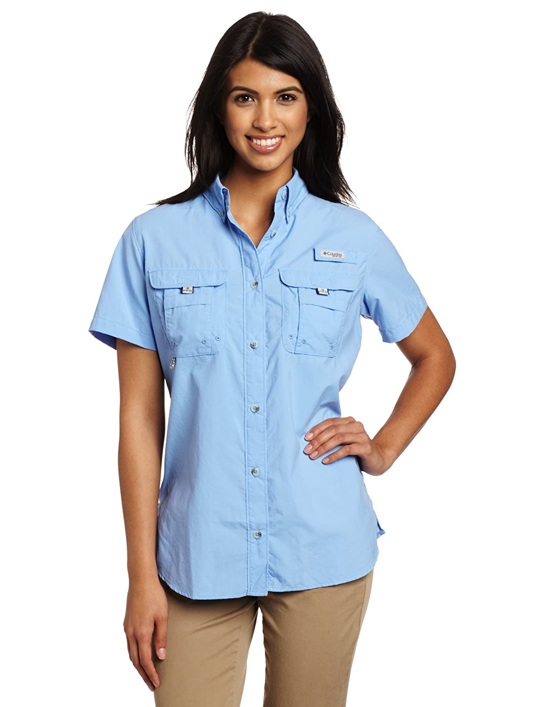 Amazon.com: Columbia Women's Bahama Short Sleeve Shirt: Sports ...