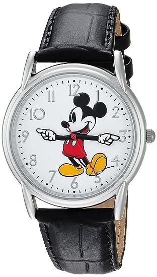 Disney - Reloj casual de cuarzo y metal para hombre 0fc380395021