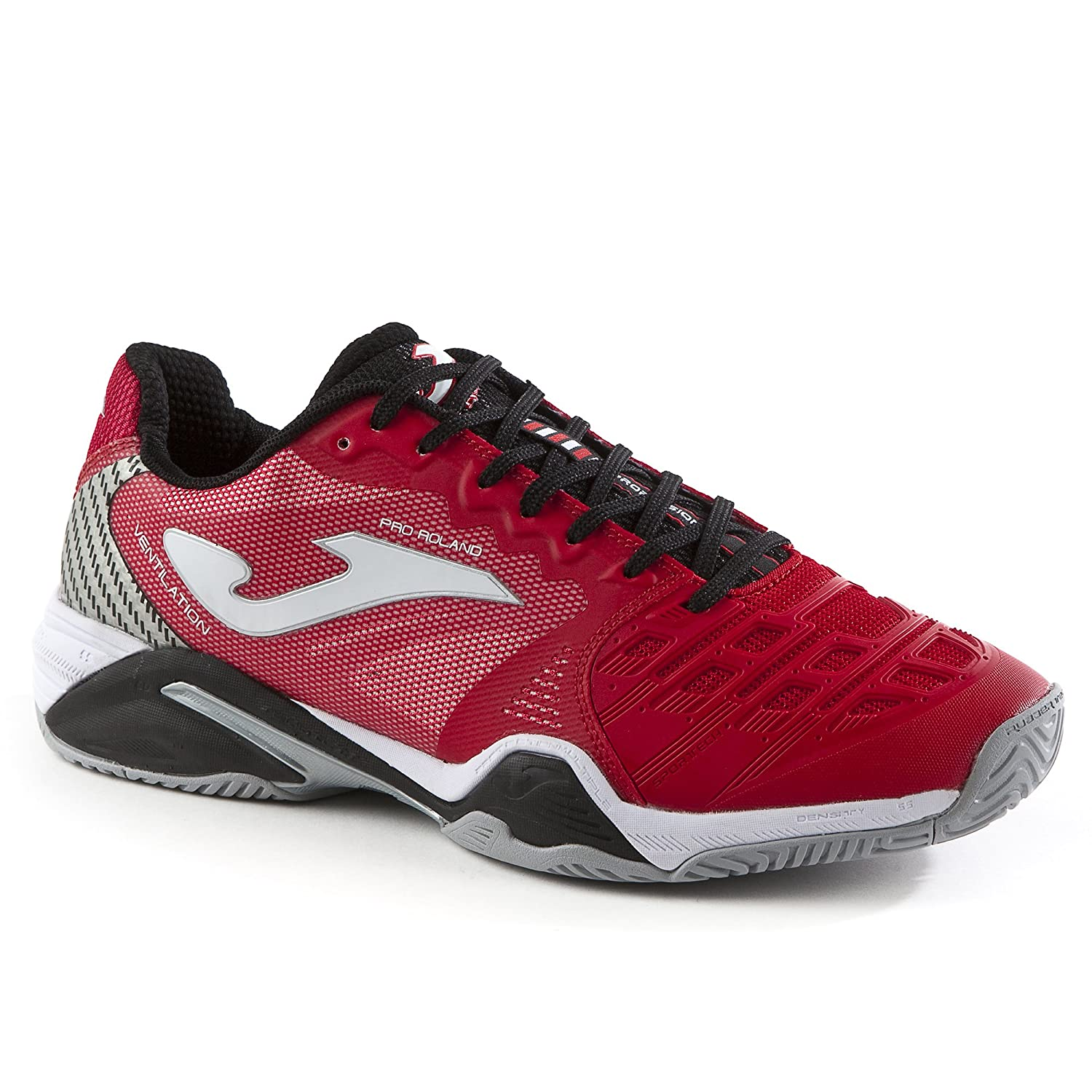 Joma - Zapatillas para correr Pro Roland All Court 706, color rojo, referente del productor T_ prolaw _ 706, rojo, 44.5 44.5|rojo rojo