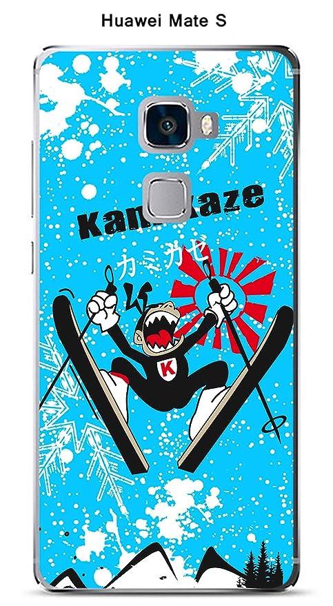 Onozo Carcasa para Huawei Mate S diseño kamikaze-ski: Amazon ...
