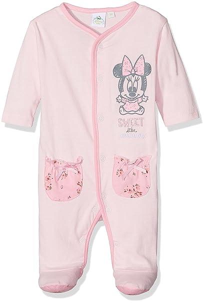 Disney Minnie Mouse Sweet, Pelele para Dormir para Bebés: Amazon.es: Ropa y accesorios
