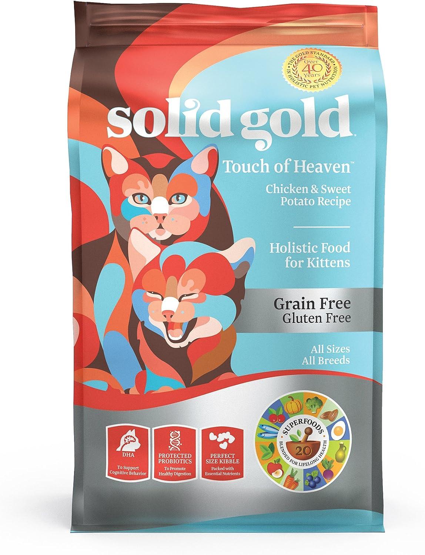 comida para gatos de Solid Gold