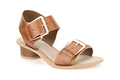f73df6711b29 Clarks Womens Casual Clarks Sandcastle Art Leather Sandals In Brown ...