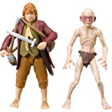 The Hobbit - BD16011 - Figurine - Pack Aventure Bilbo & Gollum x 2