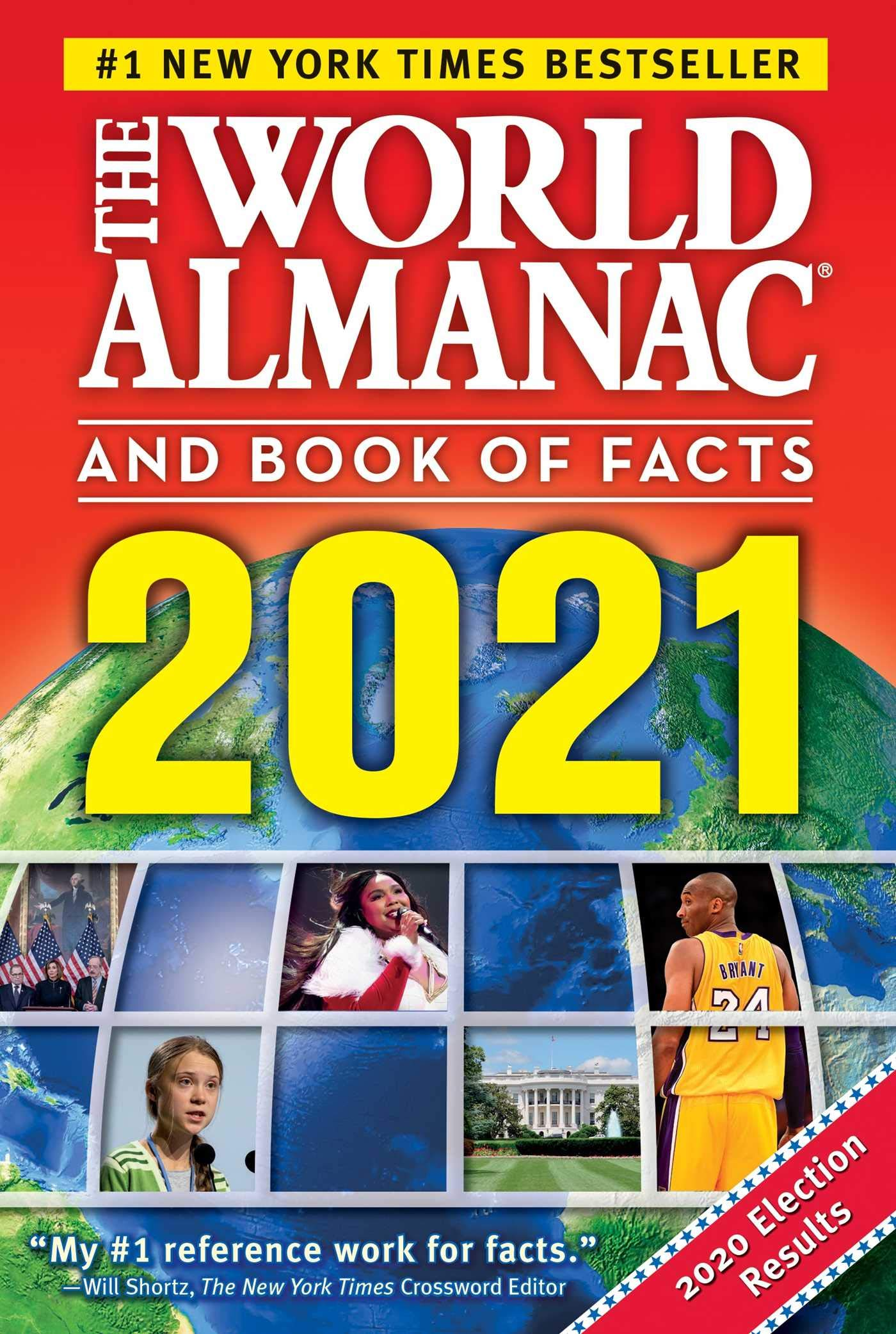 New York Times Best Sellers 2021 The World Almanac and Book of Facts 2021: Janssen, Sarah