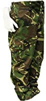 Kids Unisex Camouflage Woodland Combats Trousers (11-12 years)