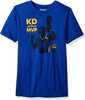 NBA Golden State Warriors Kevin Durant #36 Finals MVP 2017 Short Sleeve Tee, Medium