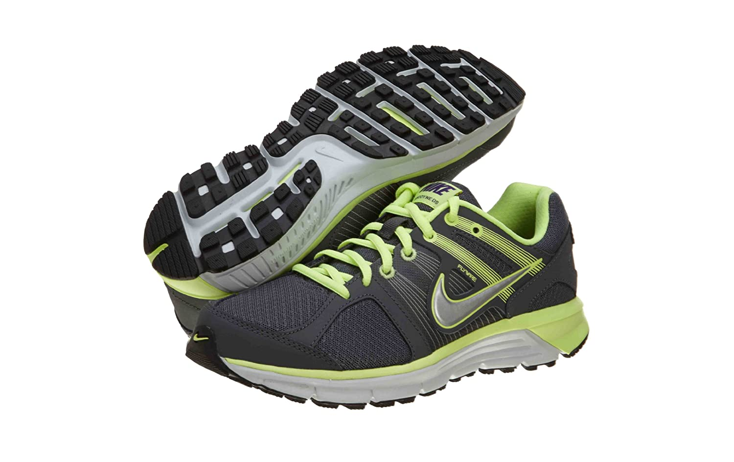 NIKE ' Revolution 3 (GS) Running Shoes B075NMXNTB 7 M US Big Kid|Volt/White/Barely Volt
