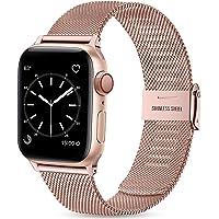Wepro Bransoletka zastępcza kompatybilna z zegarkiem Apple Watch, 40 mm, 38 mm, 44 mm, 42 mm, dla kobiet i mężczyzn…