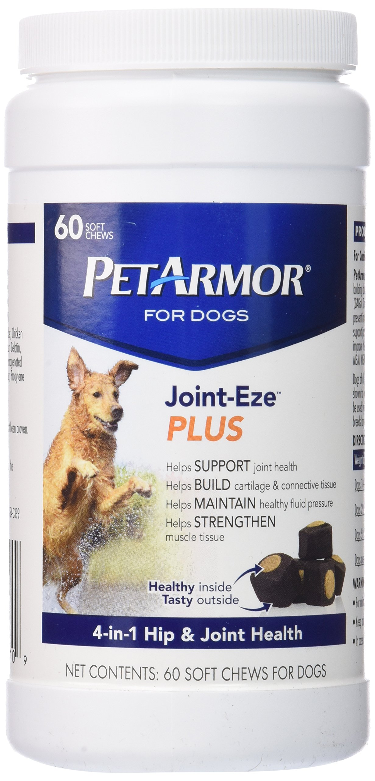 PetArmor 60 Count Joint-Eze Plus Bottle Chewable for Dogs
