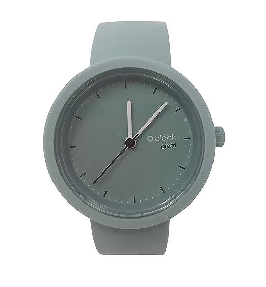 O clock Great correa polvo + Mecanismo o Great polvo S Polvere: Amazon.es: Relojes