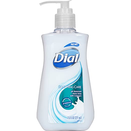Dial Liquid Hand Soap, Soothing Care, 7.5 Ounce