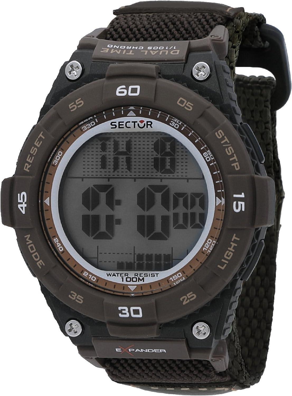 Sector Reloj Hombre de Digital con Correa en Nailon R3251594003