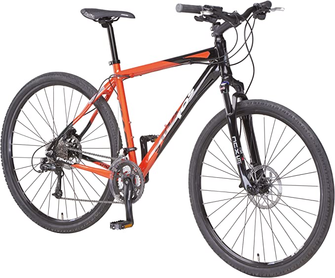 Stratos ALU-Cross BERGSTEIGER 2 - Bicicleta, Talla L (173-182 cm ...