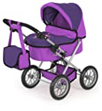 Bayer Design Doll Pram Trendy (Lilac)