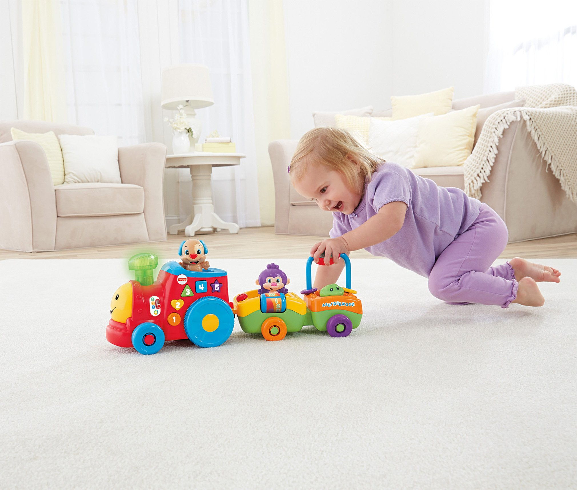 Fisher-Price Laugh & Learn Smart Stages Puppy's Smart Train by Fisher-Price (Image #6)