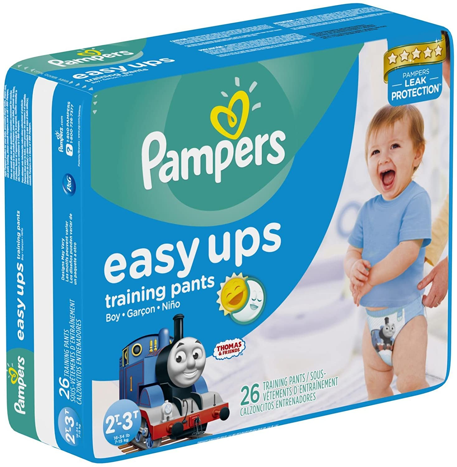 Pampers Easy-Ups Training Pants - Boys - 2T-3T - 26 ct Procter & Gamble