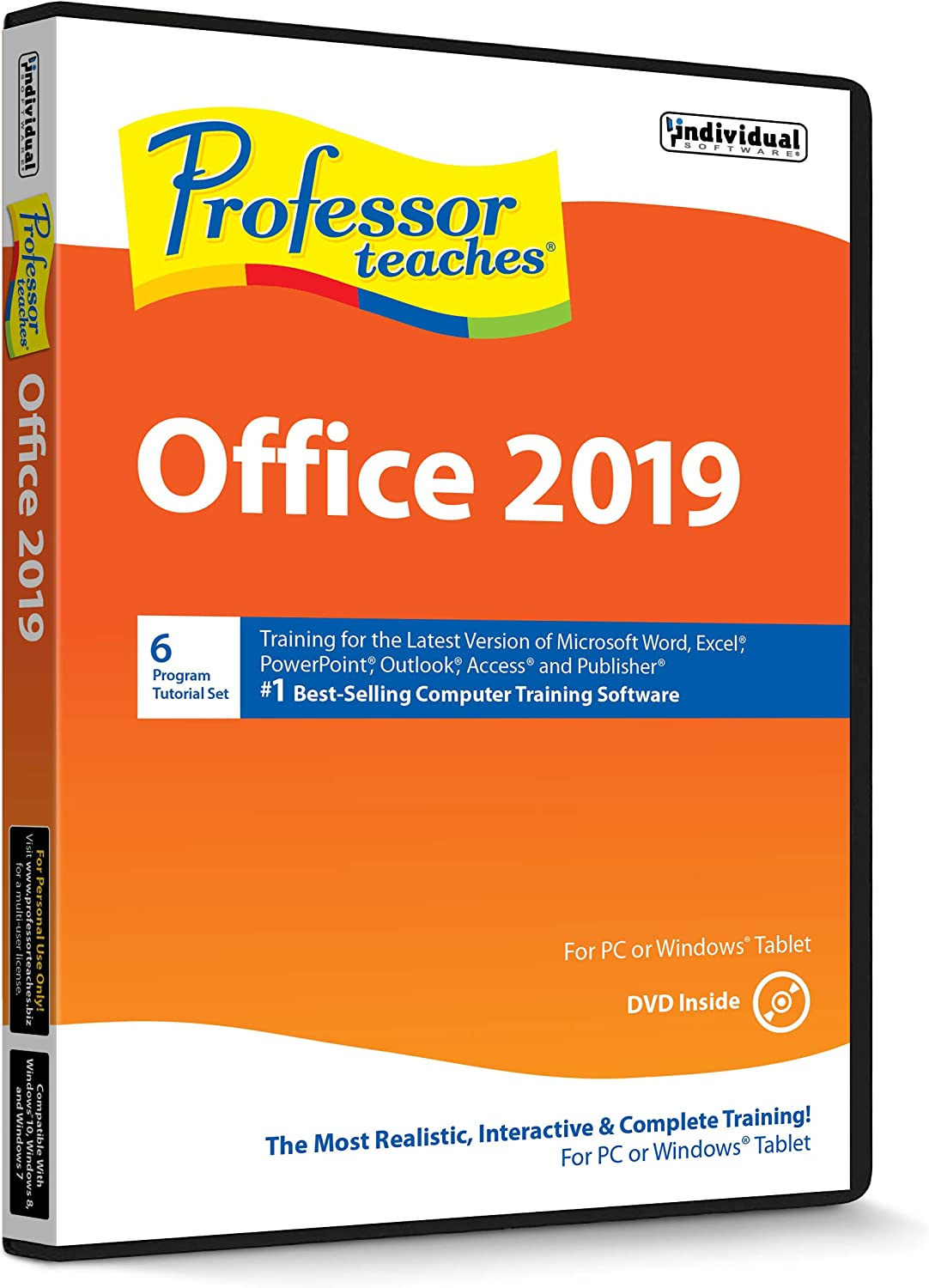 Professor Teaches Office 2019