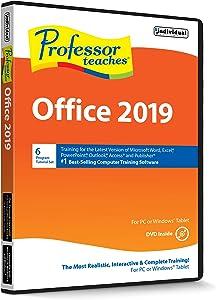 Professor Teaches Office 2019