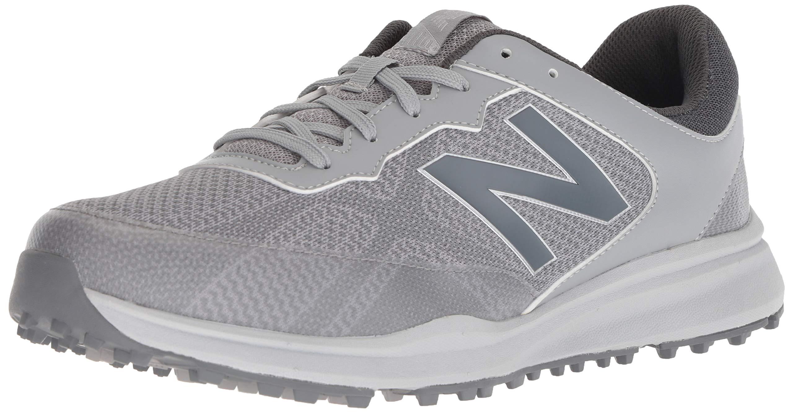 New Balance Men's Breeze Breathable Spikeless Comfort Golf Shoe, Grey, 9.5 4E 4E US by New Balance