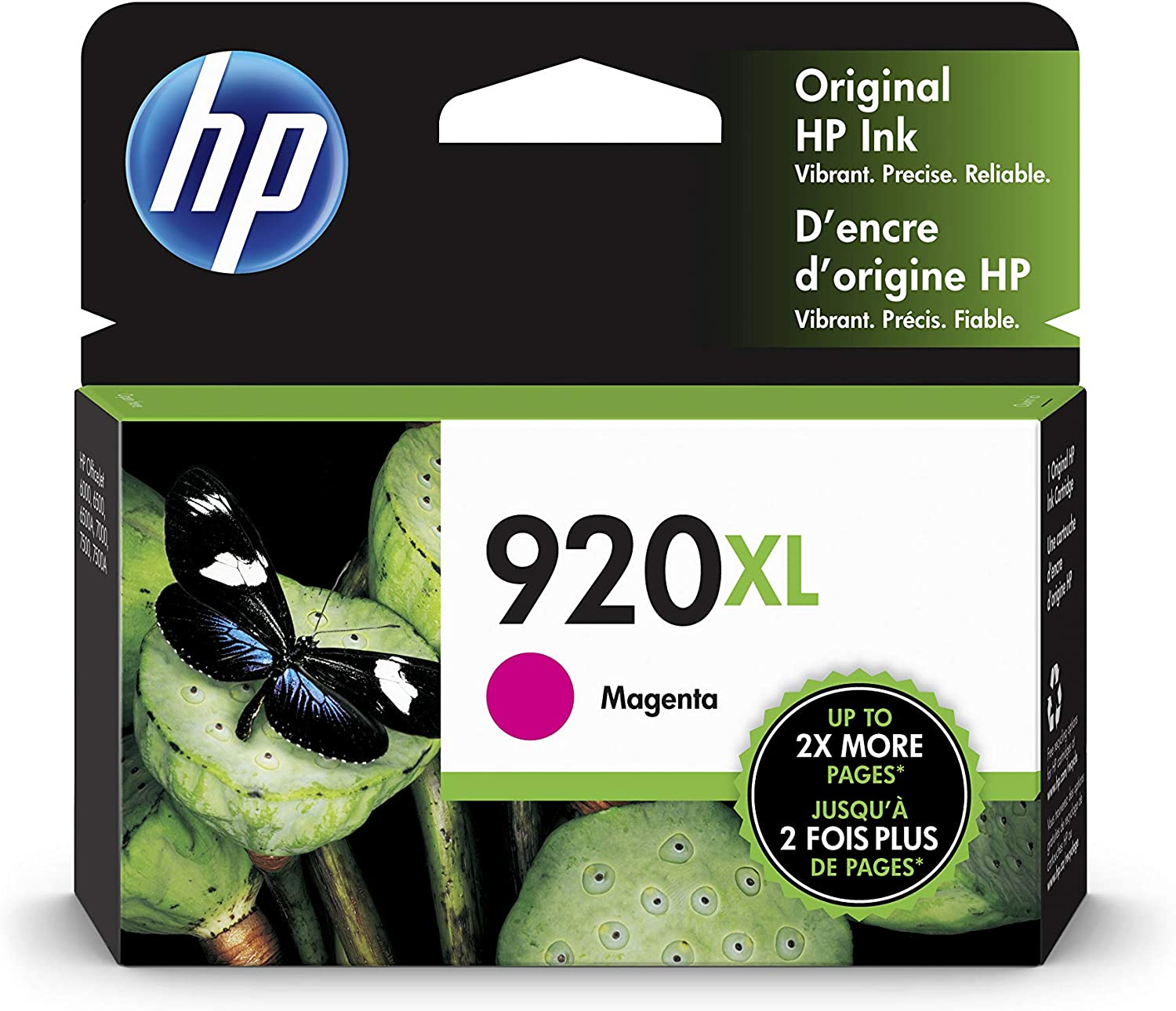 HP 920XL | Ink Cartridge | Magenta | CD973AN