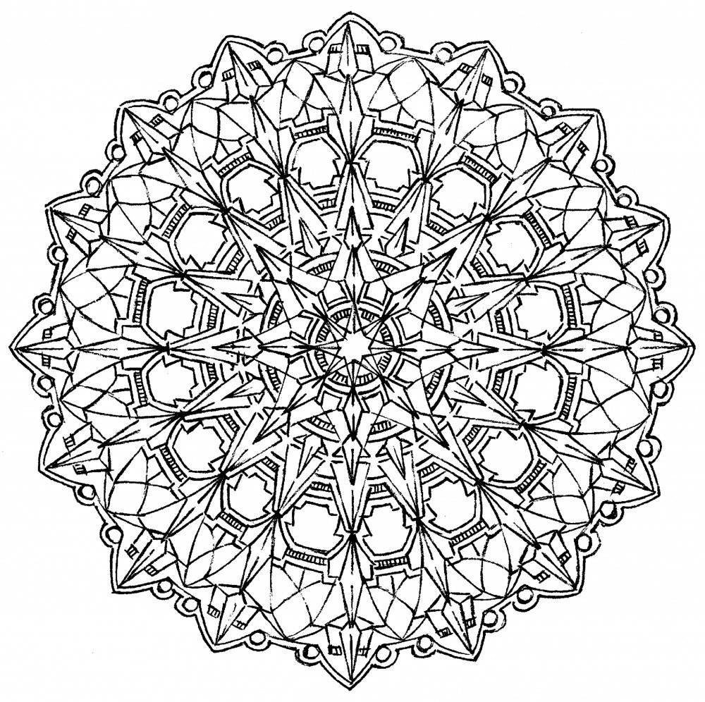 Lebensfreudeladen Mandala Leinwandmalvorlage 104 104 104 100 x 100 cm B00G28LE22 | Eleganter Stil  | Primäre Qualität  | Hohe Qualität Und Geringen Overhead  5b9064