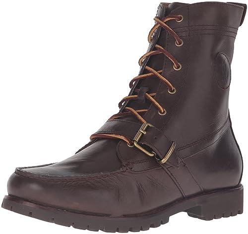 Amazon.com   Polo Ralph Lauren Men s Ranger Lace-up Hiker Boot ... 280021fbd3be