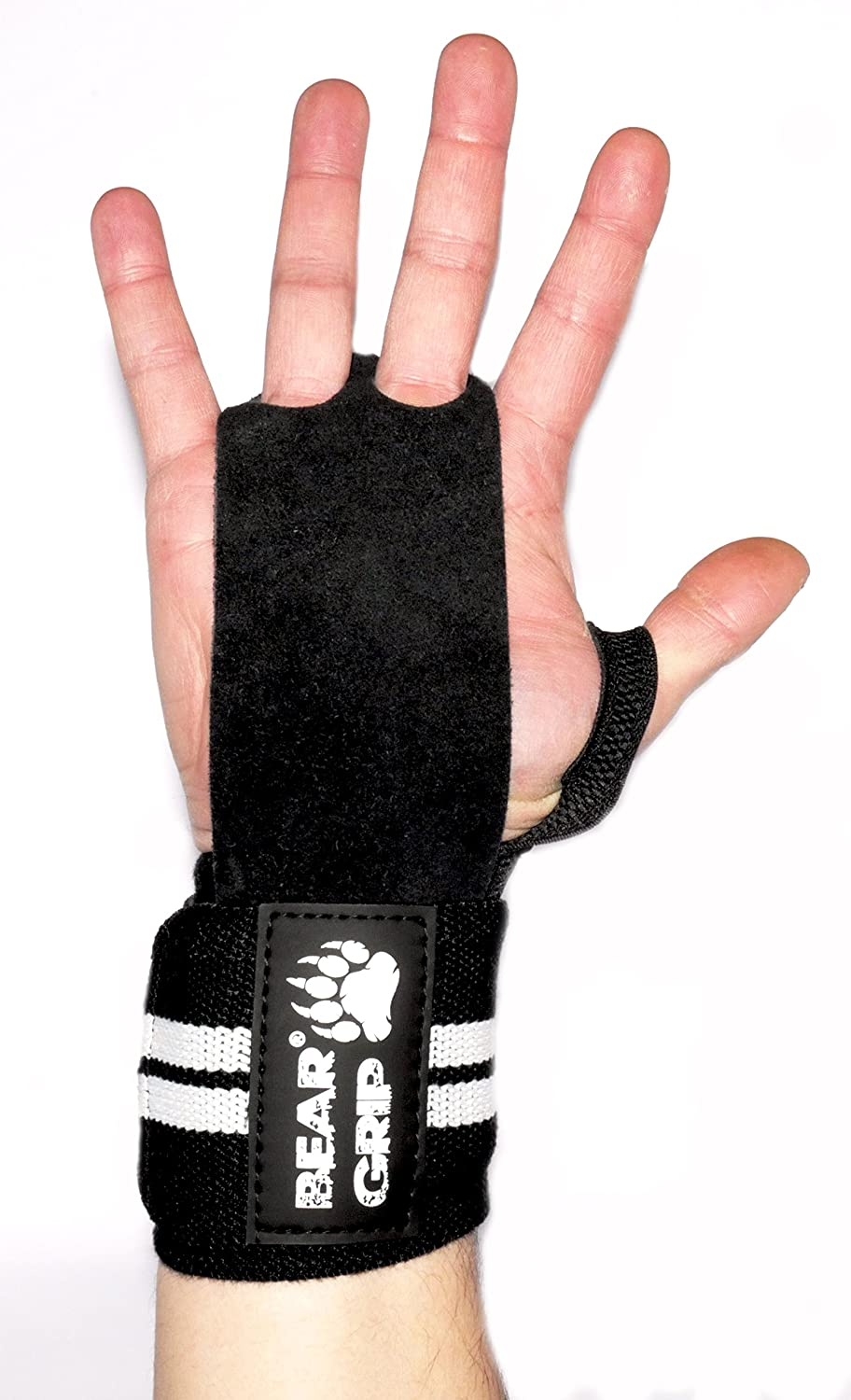 BEAR GRIP Accessories weight lifting gloves with wrist support wraps