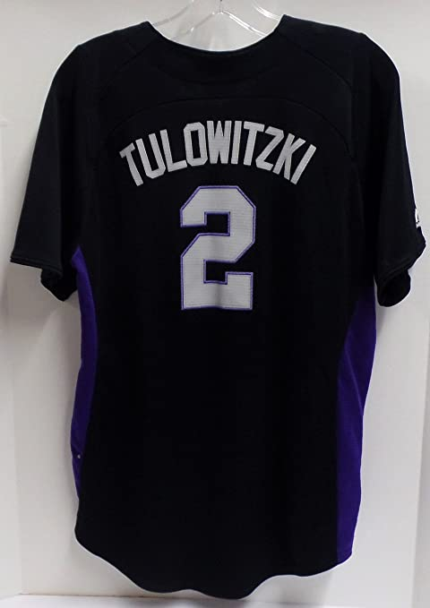 sneakers for cheap a1a51 16495 Troy Tulowitzki Colorado Rockies Youth Baseball Jersey ...