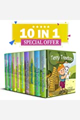 The Terry Treetop & Abigail Book Collection: Short beginner reader chapter picture children book stories.full of Imagination & play, values, animals, rhyming & Friendship.: Great for ages 3 ,4 ,5 Kindle Edition