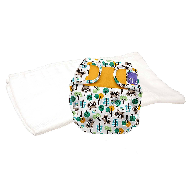 raton laveur taille 1 miosoft couche en deux parties Bambino Mio 9kgs kit dessai