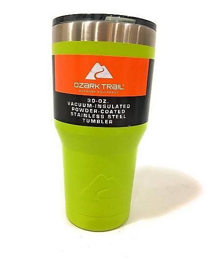 de61410cd02 Ozark Trail 30oz Double Wall Vacuum Sealed Tumbler, Acid Green