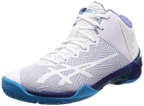 c956f5fcc875 ASICS Men s Gelburst 22 Ge White Blue Print Basketball Shoes-6.5 UK India