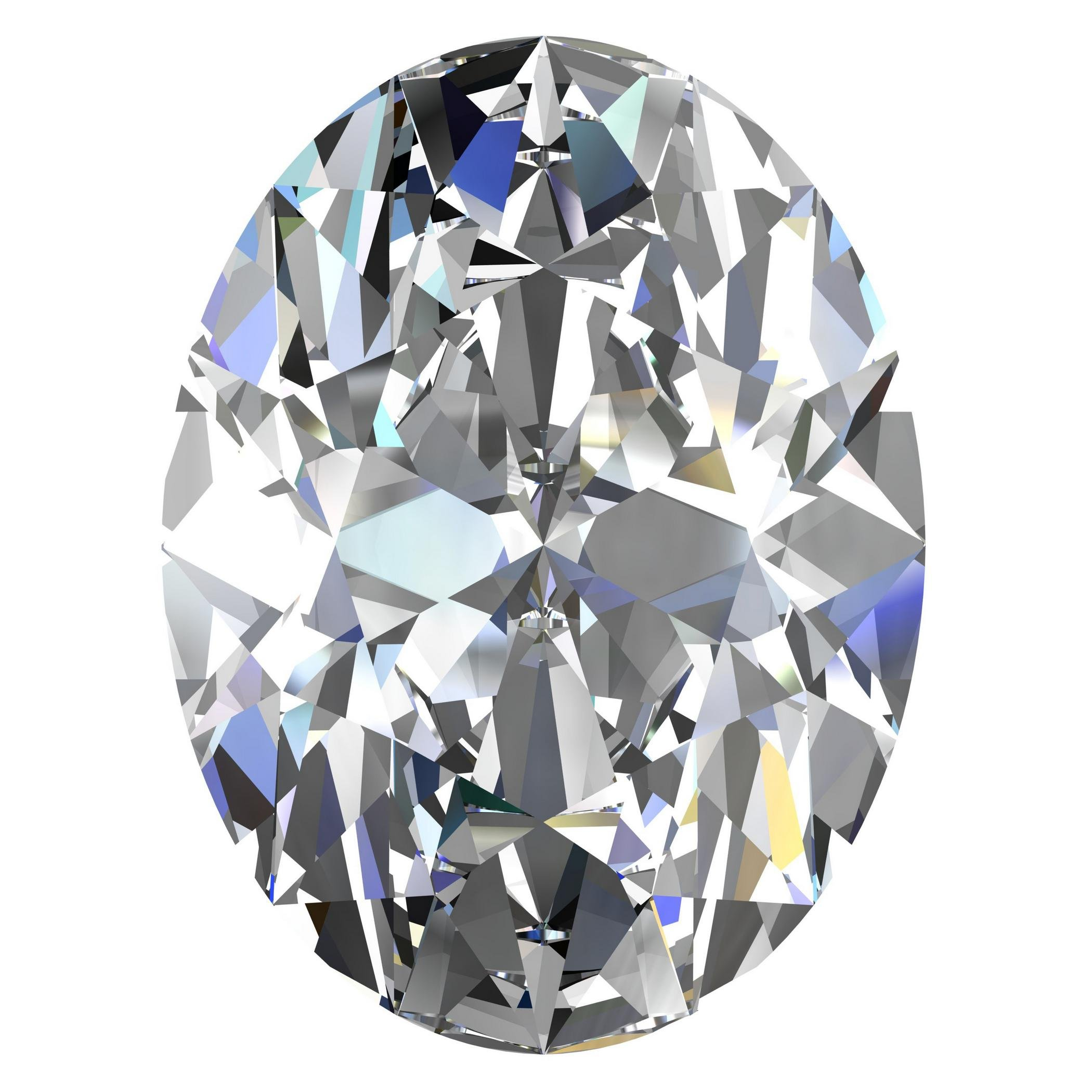 GIA Certified Natural 1.04 Carat Oval Diamond with G Color & VS2 Clarity by GIA (Image #1)